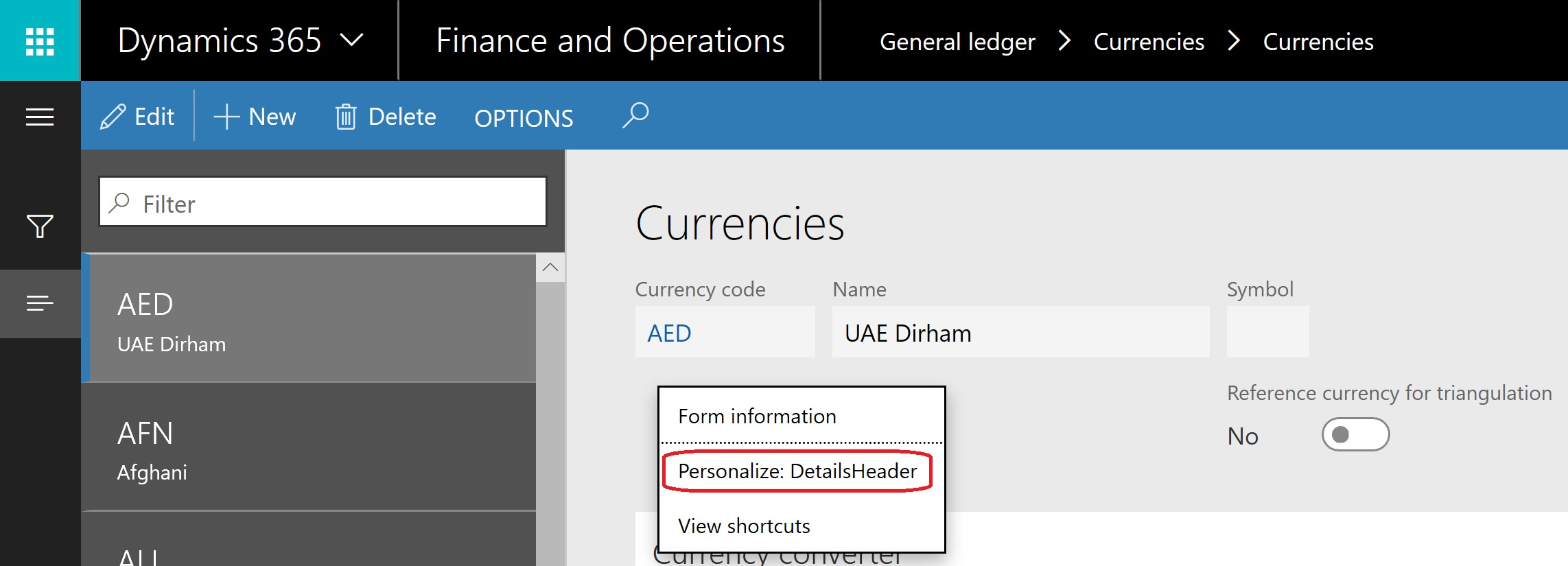 How to add new currency to Microsoft Dynamics365 for Finance